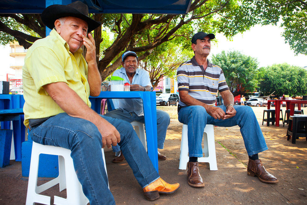 In Cassol's hometown of Rolim de Moura, Antonio Miranda, 73 (right), and Amadeu dos Santos, 73 (left), say they know Cassol personally and believe he has changed their state for the better. If he ever runs again, they say, he would win in a heartbeat.