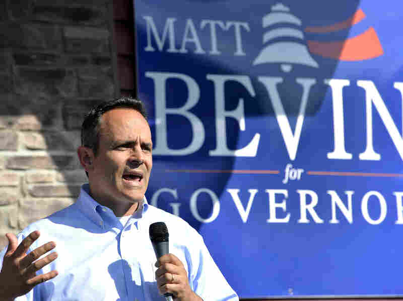 Matt Bevin, who lost the 2014 Senate primary to Mitch McConnell, narrowly won the GOP primary for governor earlier this spring.