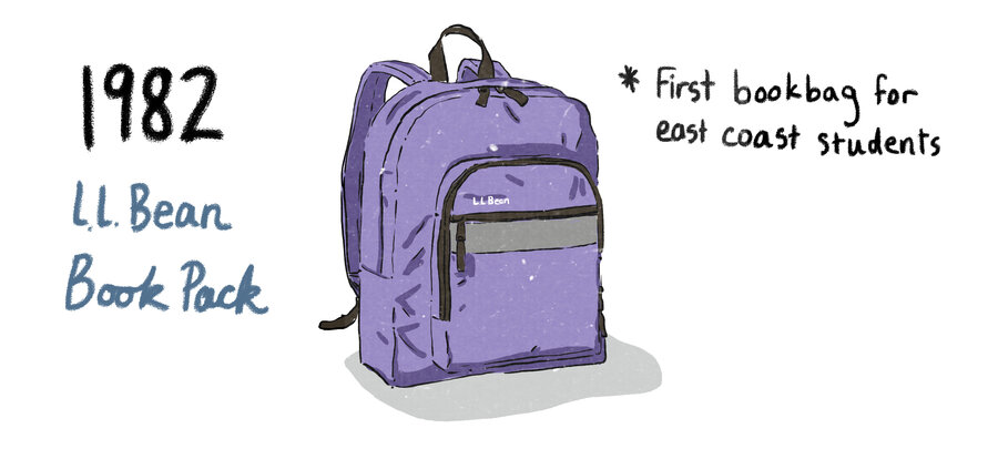 From Book Strap To Burrito A History Of The School Backpack NPR Ed