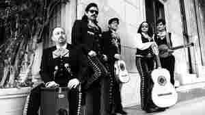 Mariachi Band Brings Morrissey To Dia De Los Muertos