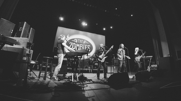 The Zombies performed their classic album Odessey and Oracle live in Lincoln Theatre in Washington, DC on October 8, 2015. (NPR)