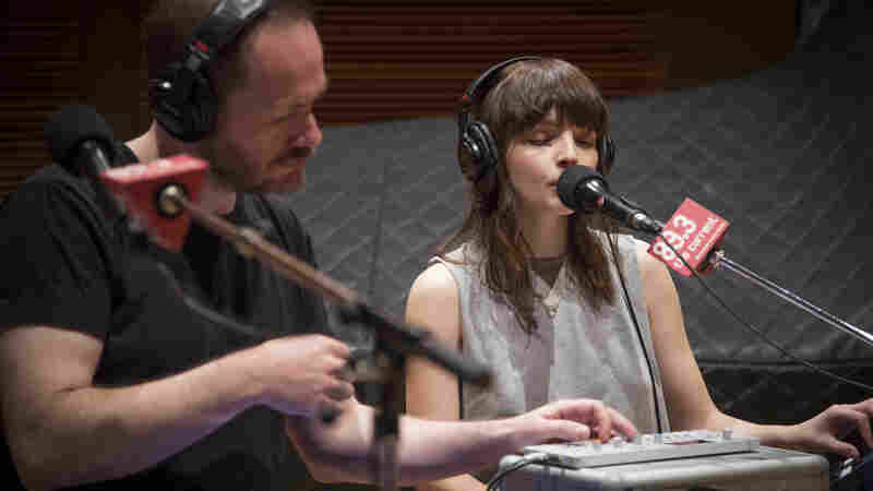 Chvrches perform live in The Current's studios.