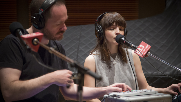 Chvrches perform live in The Current's studios. (The Current)