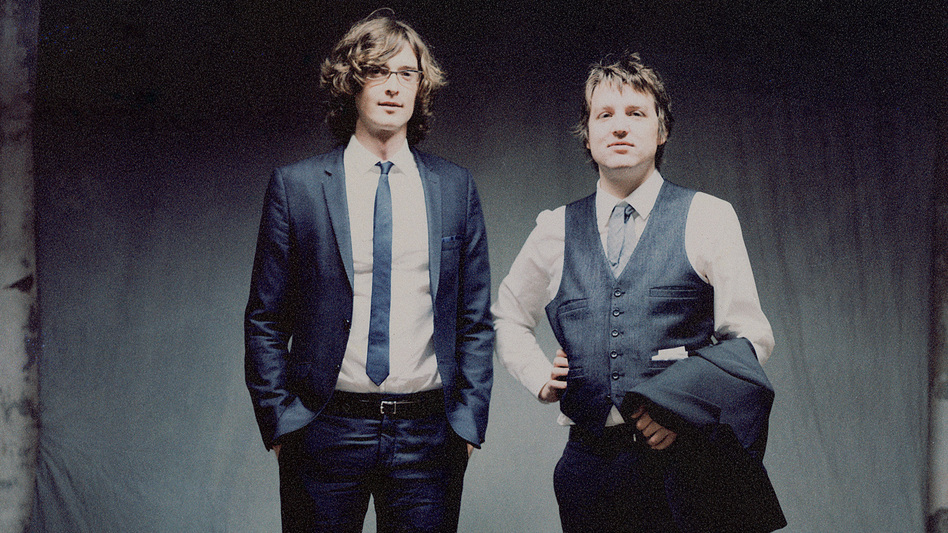 The Milk Carton Kids are Joey Ryan (left) and Kenneth Pattengale. (Ryan Mastro)