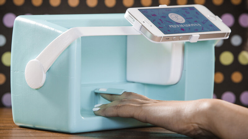 Could The Nailbot Nail Art Printer Attract More Girls To Tech? : All ...