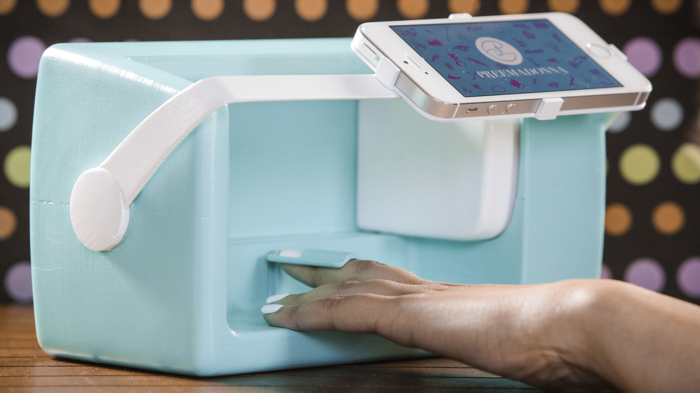 Could The Nailbot Nail Art Printer Attract More Girls To Tech All