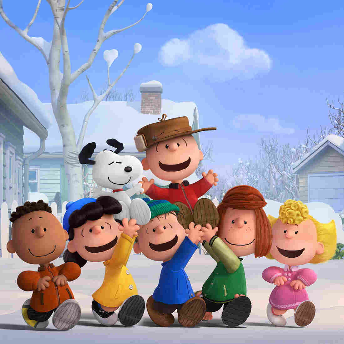Snoopy Gets Out Of The Doghouse In 'The Peanuts Movie'