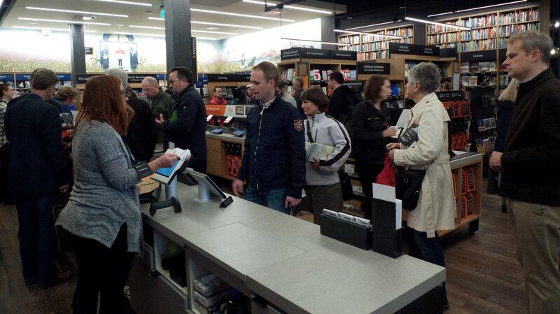Cửa hàng bán sách đầu tiên của Amazon