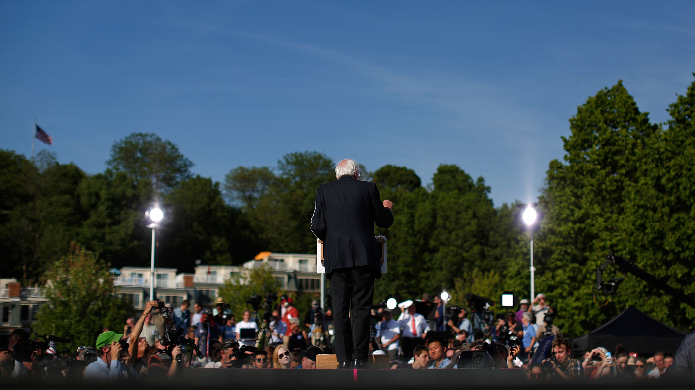 Becoming Bernie: The 6 Chapters Of Sanders\' Life : NPR