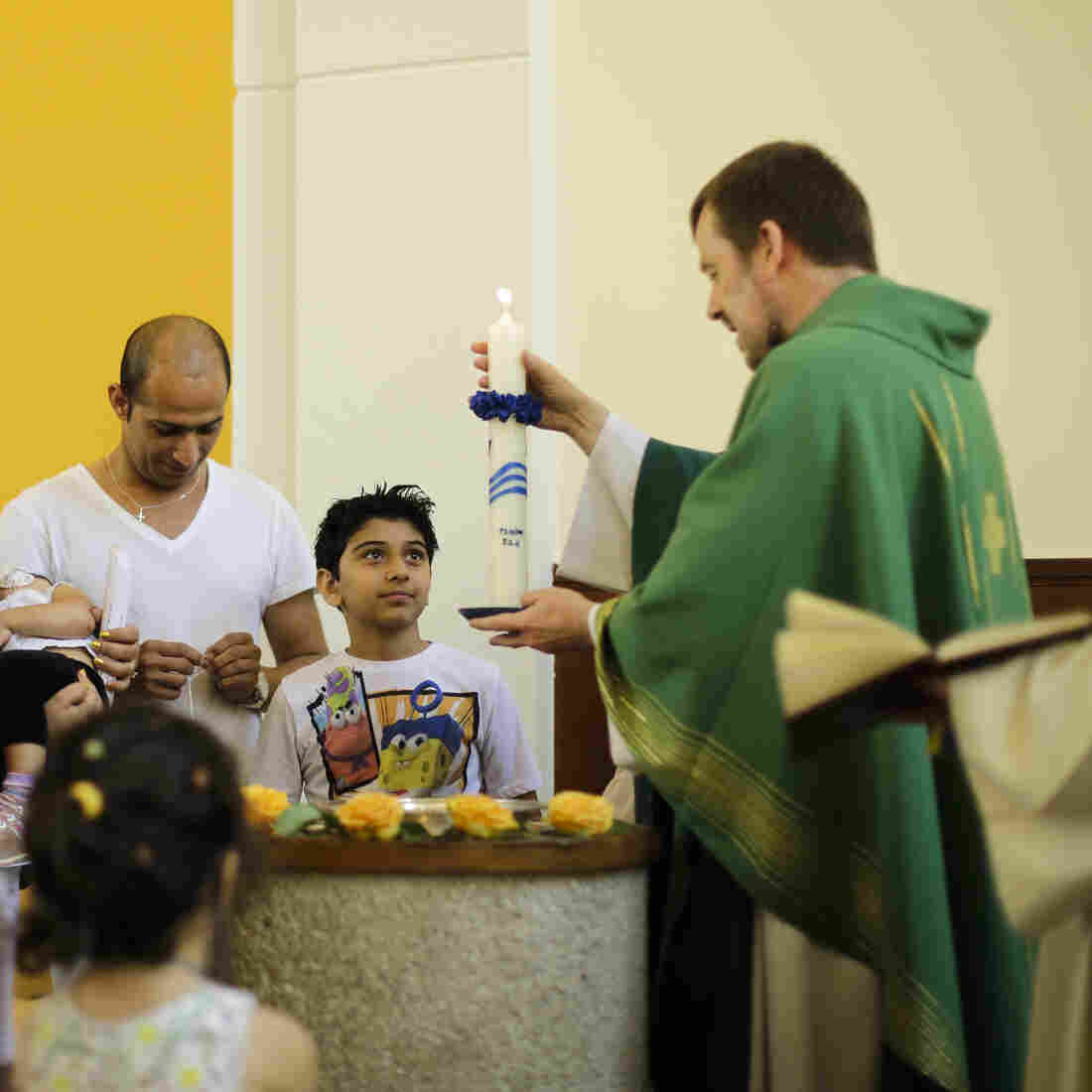For Some Muslim Asylum-Seekers In Germany, Christianity Beckons