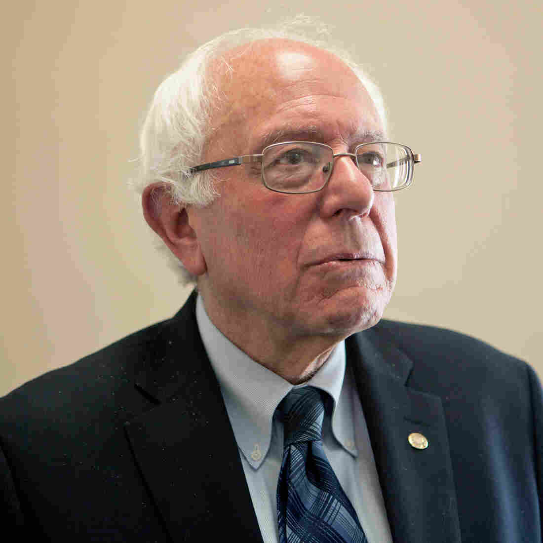 Sanders Says He's Democrats' Best Bet On Issues — And Electability