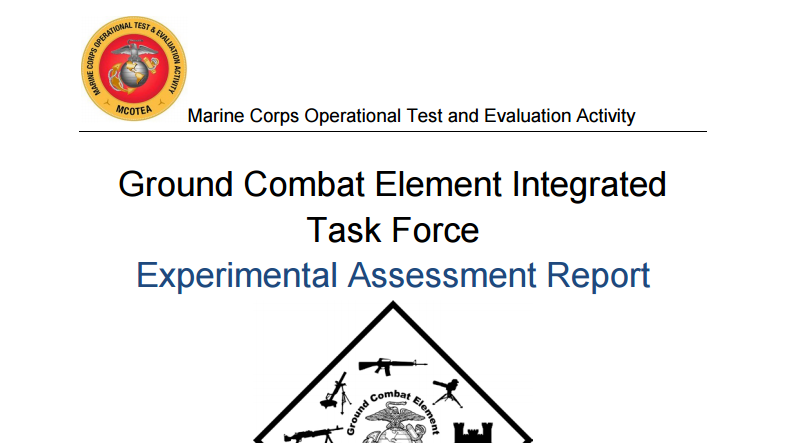 Controversial Marine Corps Study On Gender Integration Published In Full