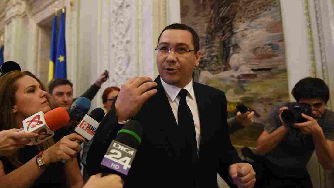 Romania's Prime Minister Victor Ponta is resigning, after thousands of protesters called for him to step down Tuesday. Ponta is also facing corruption charges.