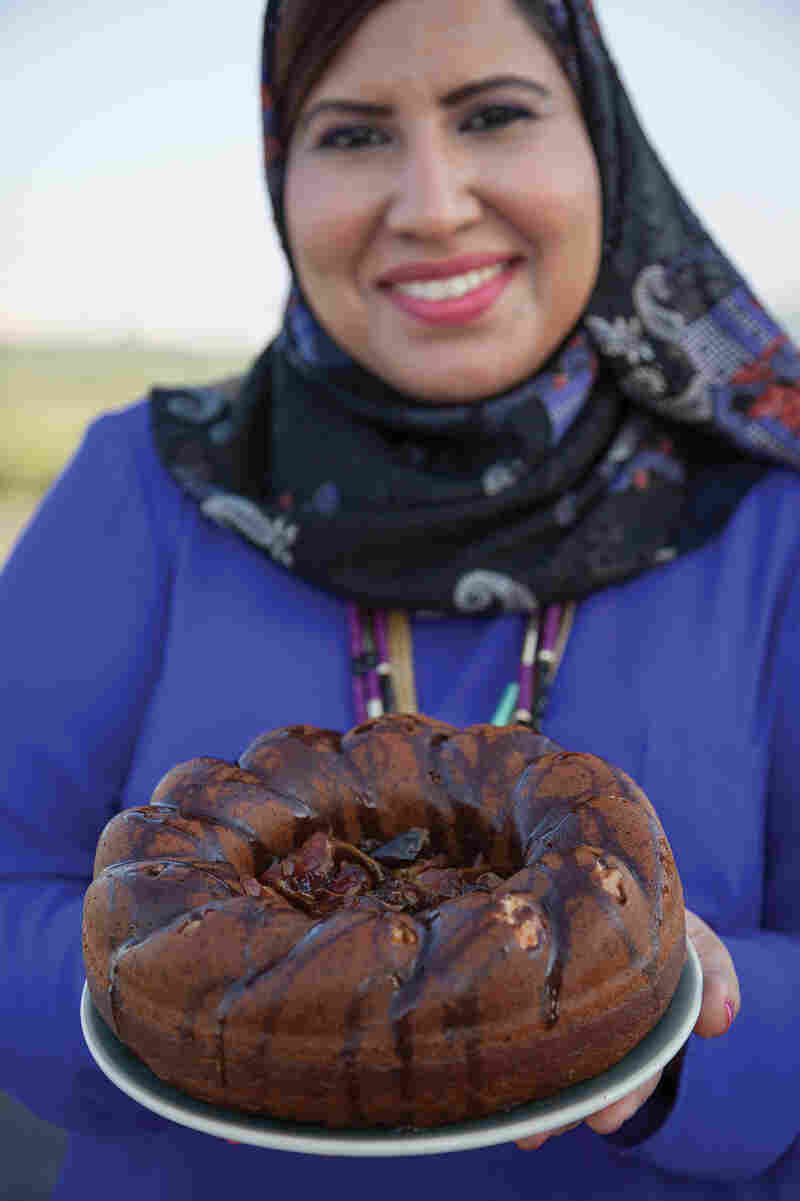 Muscat baker and former cafe owner Samar Al Khusaibi loves taking international recipes and using local flavors and ingredients to give them her own twist, as with this moist Bundt cake sweetened with dried dates.