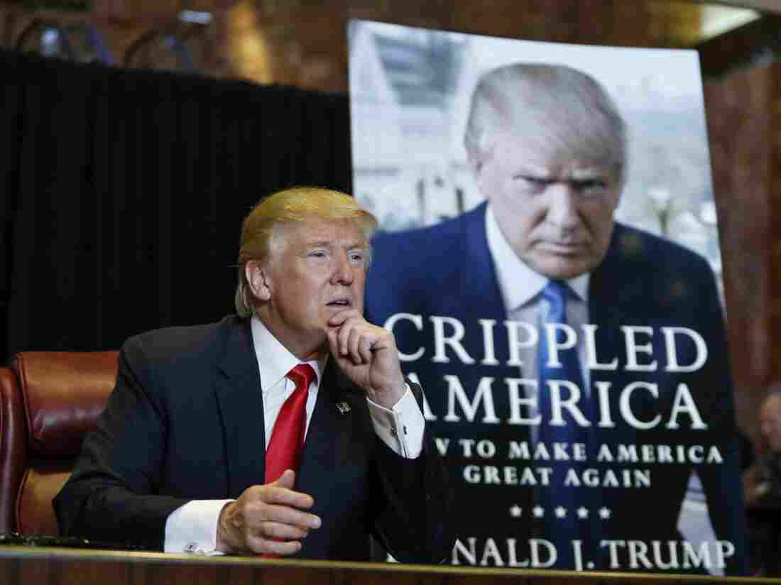 As with many campaign books, Trump's Crippled America functions in part as a supersized resume.