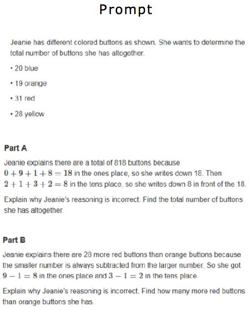 A Peek Inside What Kids Saw On A Common Core Test Npr Ed Npr