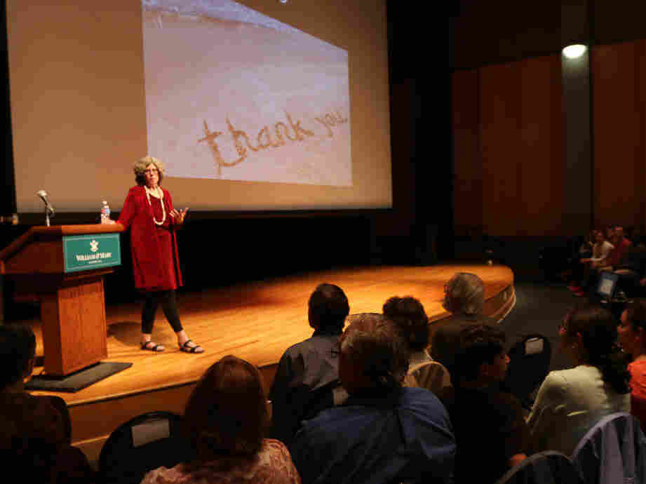 "The College Of William And Mary anthropology professor Barbara J. King presents her ""last"" lecture, on emotions in the animal world, as she prepares to retire from academic life."