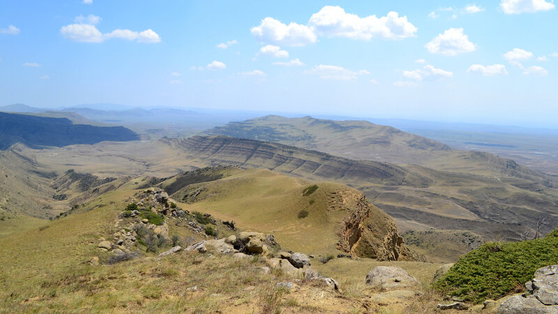 The open, temperate terrain of eastern Georgia would make fast-changing sounds like 'str' in 'strength' easier to hear. (Sebastian Preuber/Flickr)