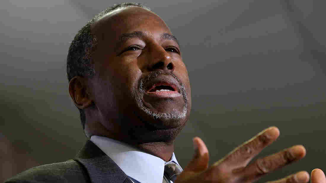 Republican presidential candidate Ben Carson campaigning in Colorado last month.