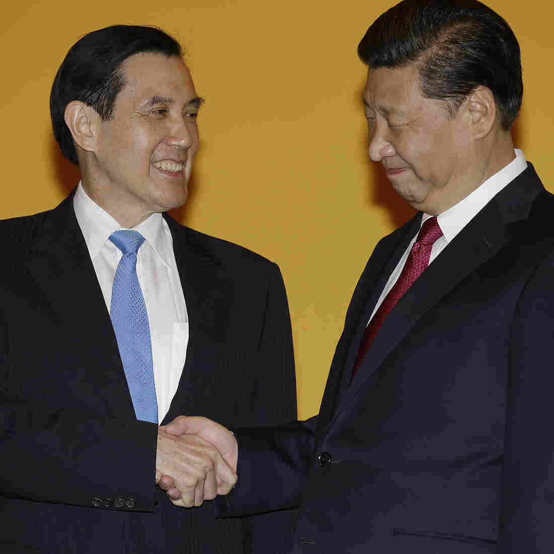Historic Handshake: China, Taiwan Leaders Meet For First Time In 66 Years