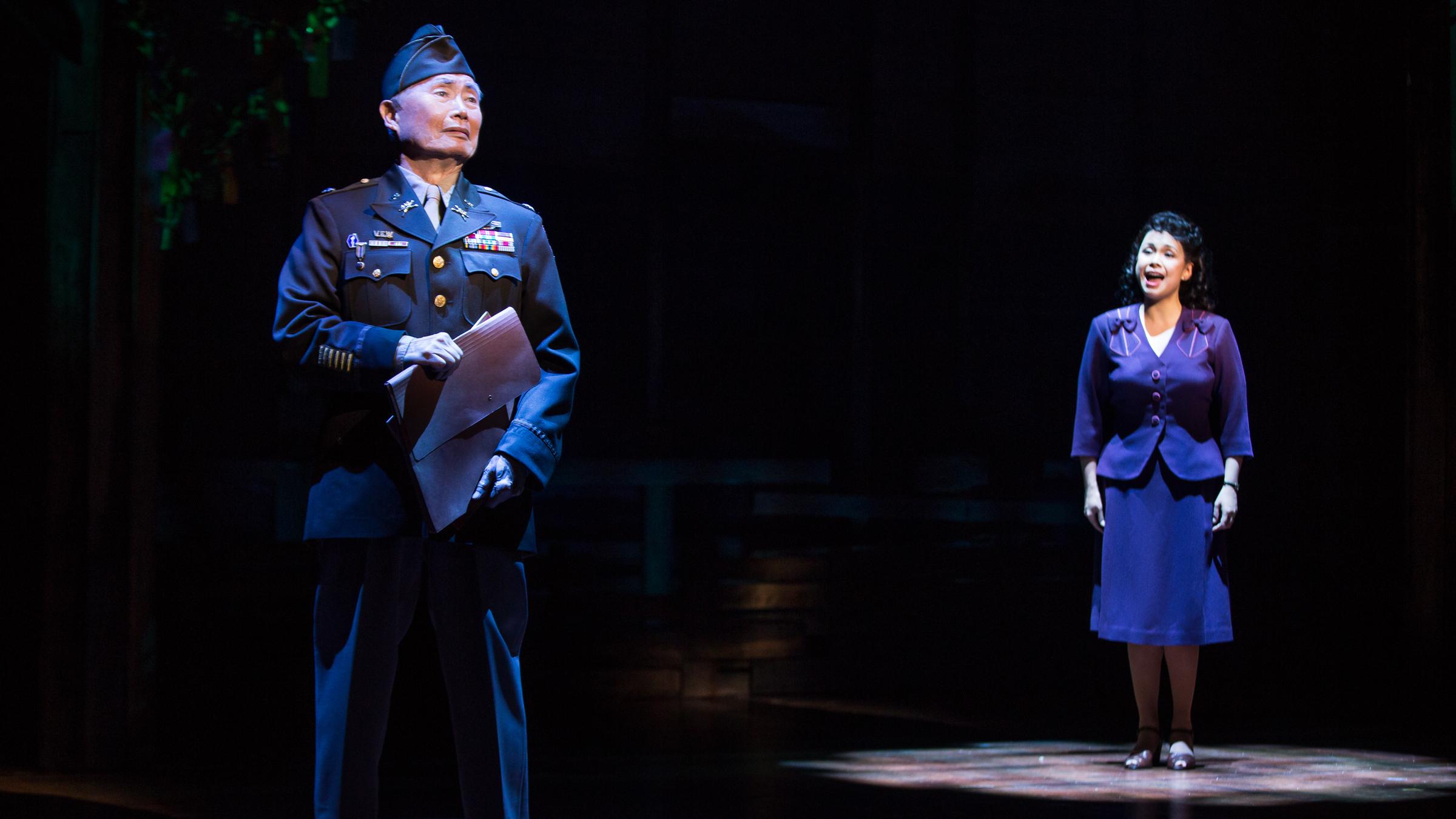 George Takei Debuts On Broadway In 'Allegiance'