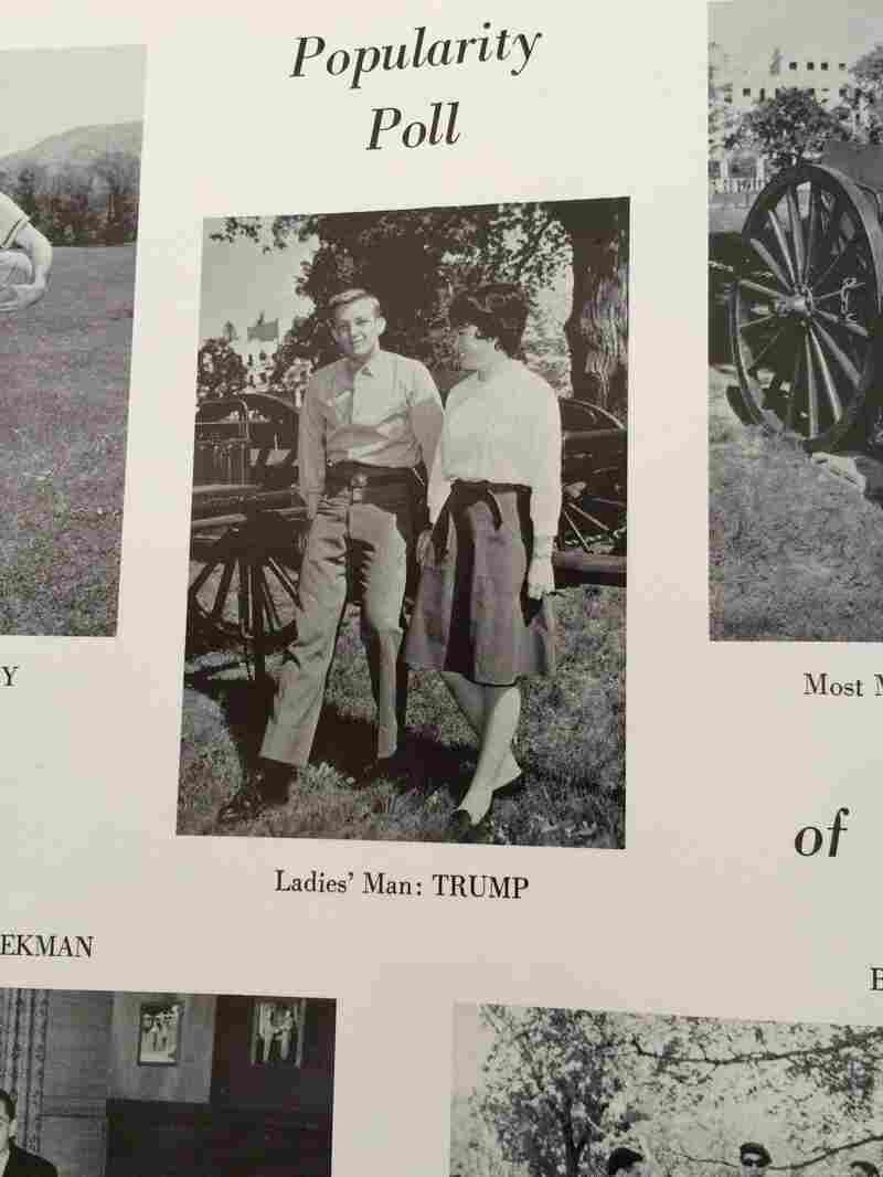 """""""The type of women who were coming up to see [Trump] or he was bringing were definitely from the upper levels of New York society,"""" said classmate George White. """"I mean, I remember there were so many, it was a revolving door."""""""