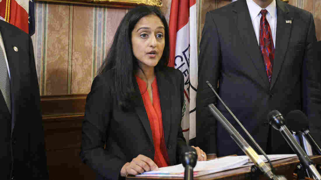Vanita Gupta, head of the civil rights division at the Department of Justice.