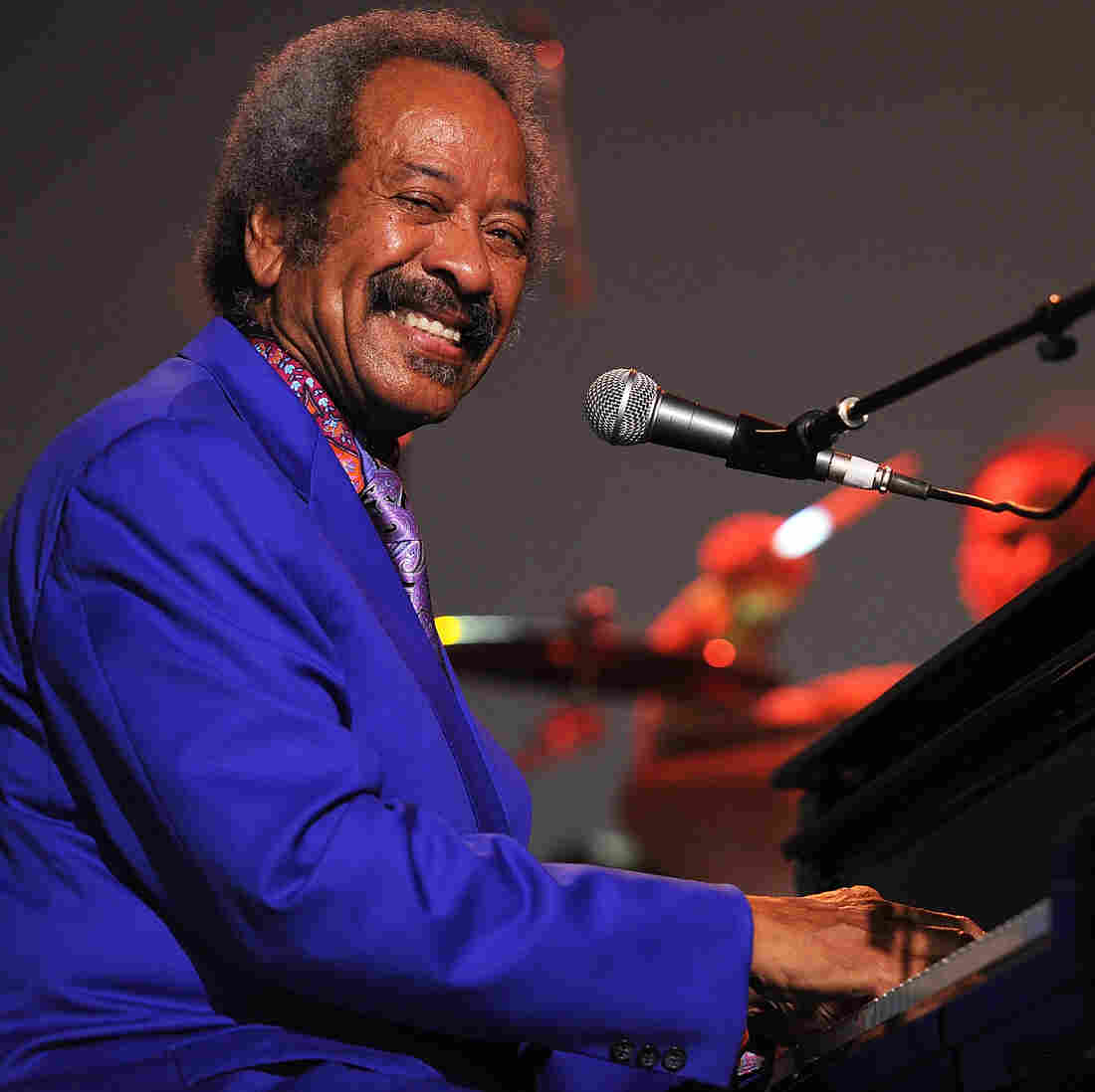 Allen Toussaint on stage in Australia in 2013. He died Monday at age 77 in Madrid, Spain.