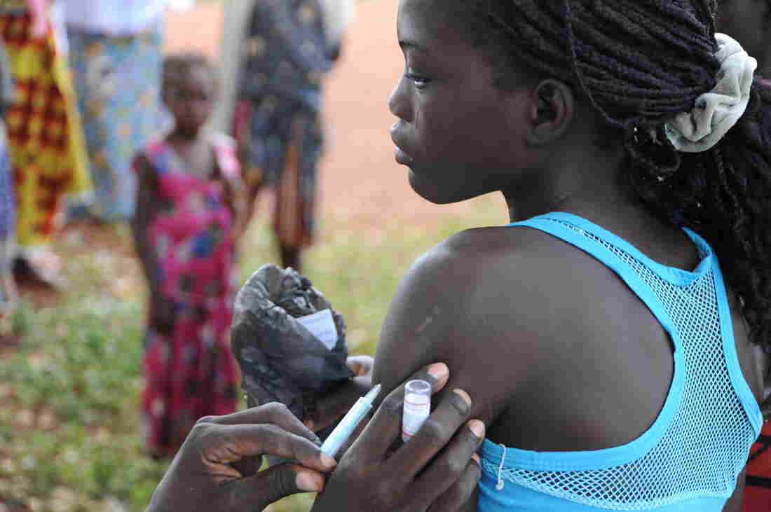 Burkina Faso was the first country to vaccinate its population against meningitis A.
