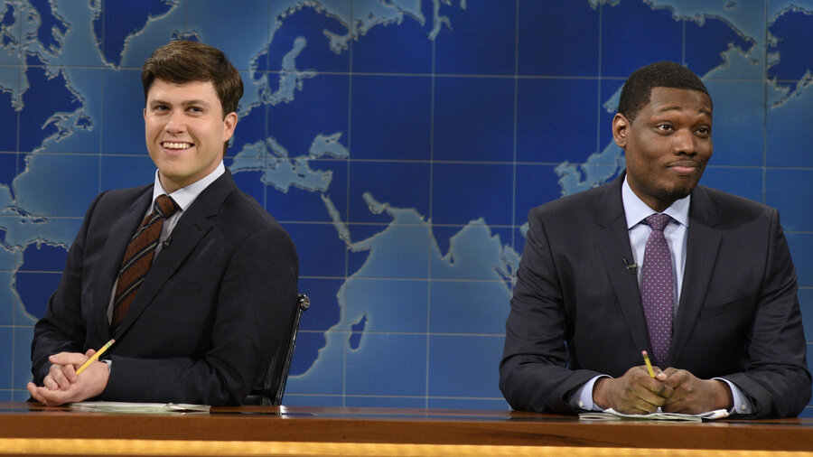 Weekend Update Co Anchors Dish On Snl And Donald Trump
