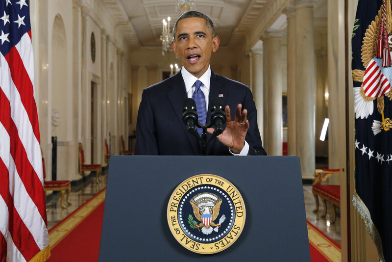 It was about a year ago that President Obama announced executive actions that would shield millions of immigrants from deportation. (Pool/Getty Images)
