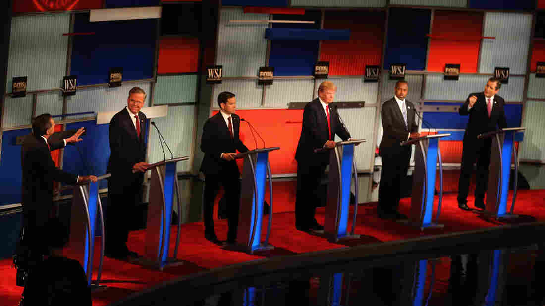 Republican candidates for president debated Tuesday night in Milwaukee, Wis.