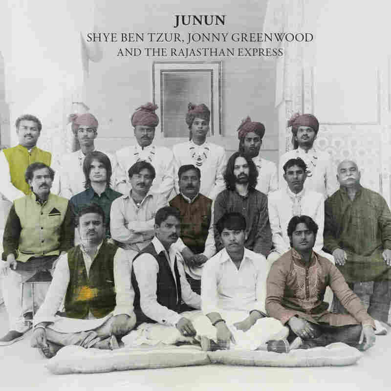 Cover art for Junun.