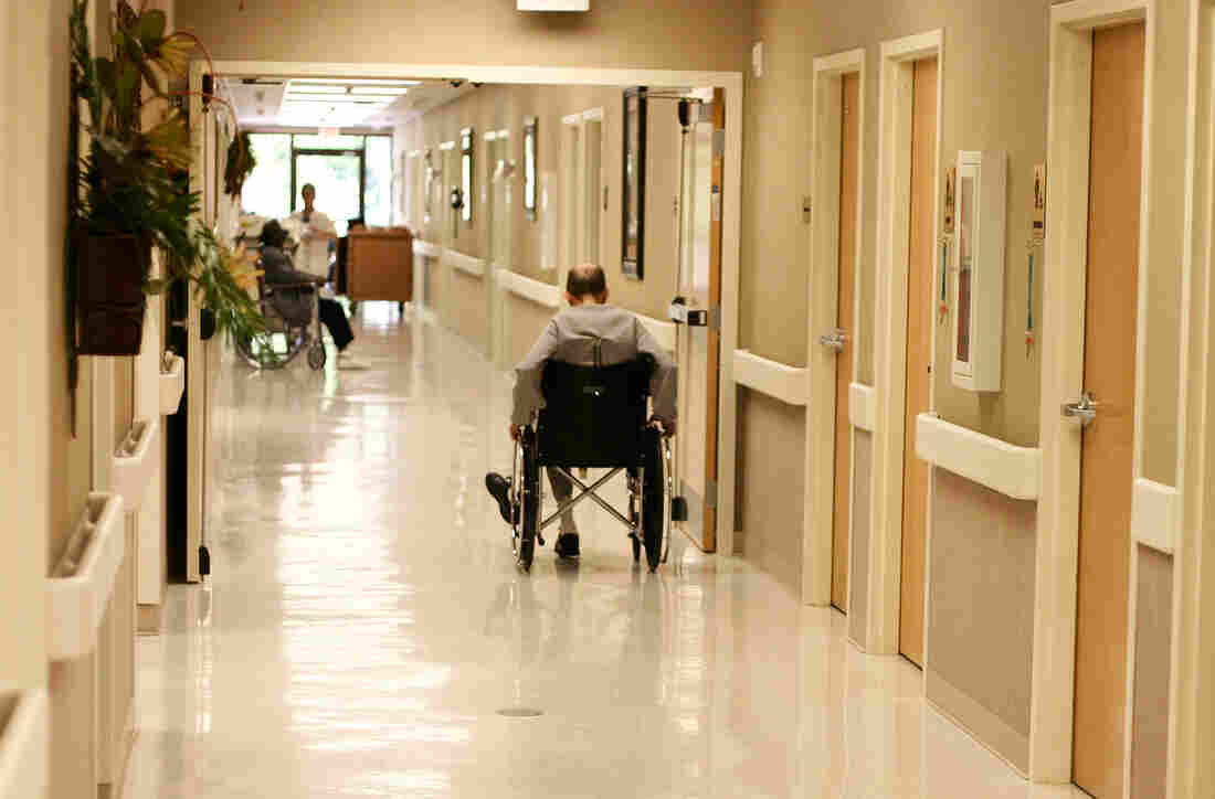 Nursing home residents can be at risk, but so are people living at home with a spouse or adult children.