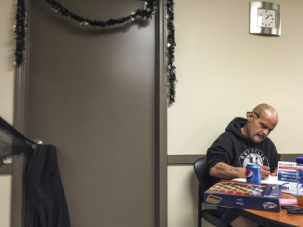 Edwin Santana, 52, entered a detox program at Syracuse Behavioral Healthcare to help break his heroin addiction and daily habit of smoking the synthetic drug known as spike.