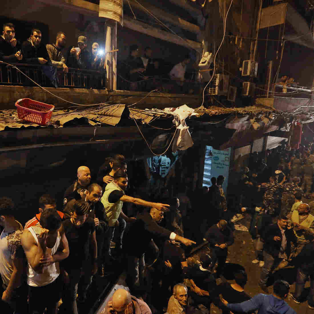More Than 40 Reportedly Killed As Bombs Hit Hezbollah Area In Beirut