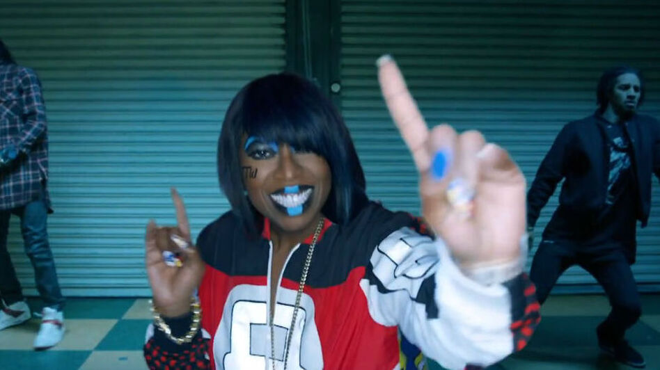 "Missy Elliott surprised the music world this week with the new song and video ""WTF (Where They From)."" (YouTube)"