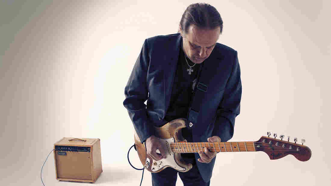 Walter Trout's latest album is called Battle Scars.