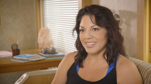 Sara Ramirez stars in ABC's Grey's Anatomy as Dr. Callie Torres.