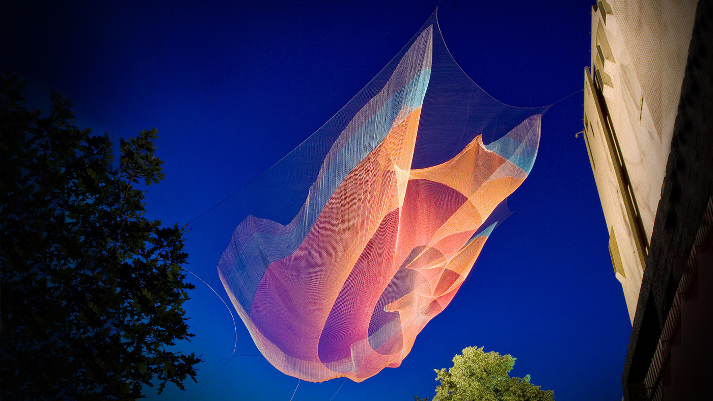Janet Echelman How Did A Mishap Lead To An Artist S Best