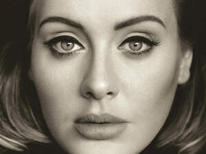 The cover image of Adele's third album, 25.