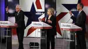 Liveblog: National Security, Economy Main Focus Of Democratic Debate