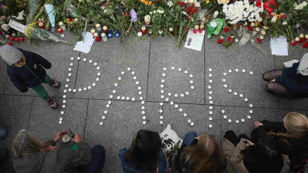 Nuclear Nightmares Give Way To A New Terror, Seen On Paris Streets