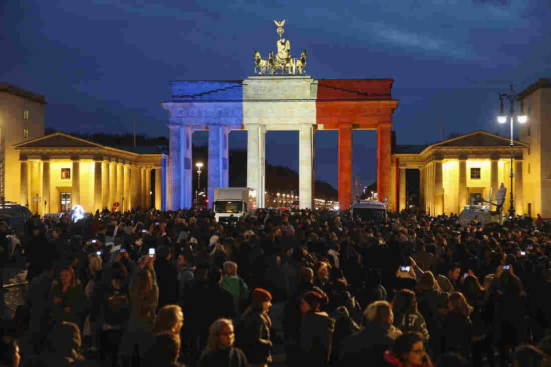 The Brandeburg Gate, Berlin, Germany.