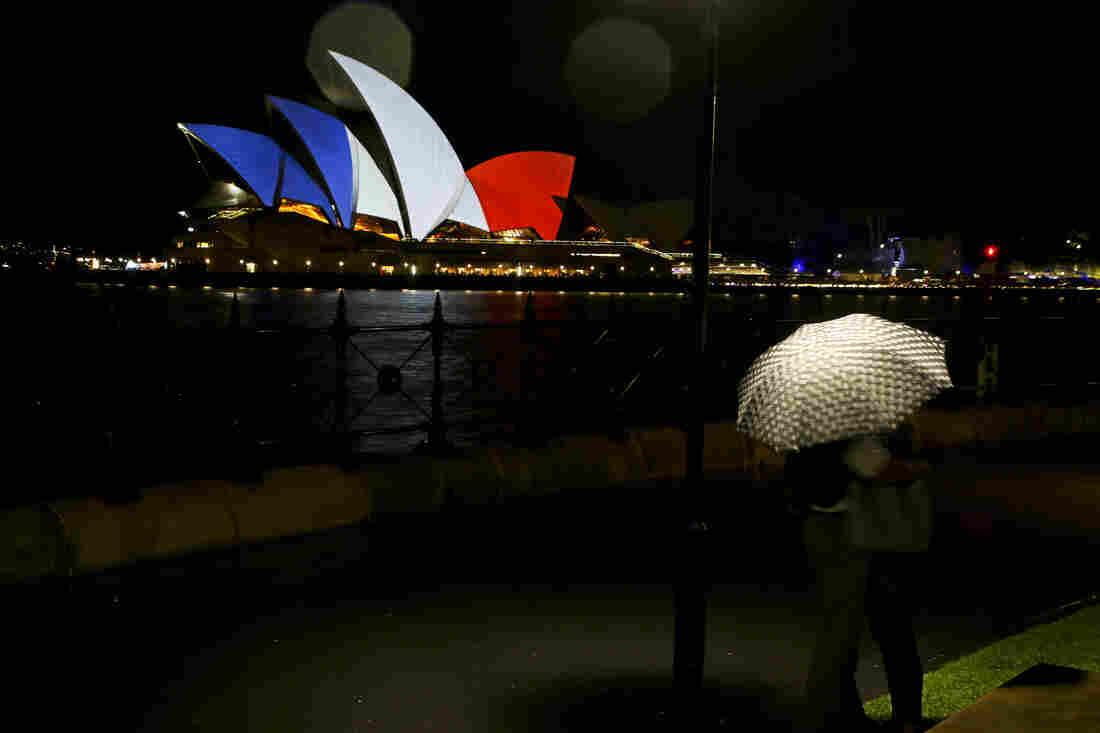 The Sydney Opera in Sydney, Australia.