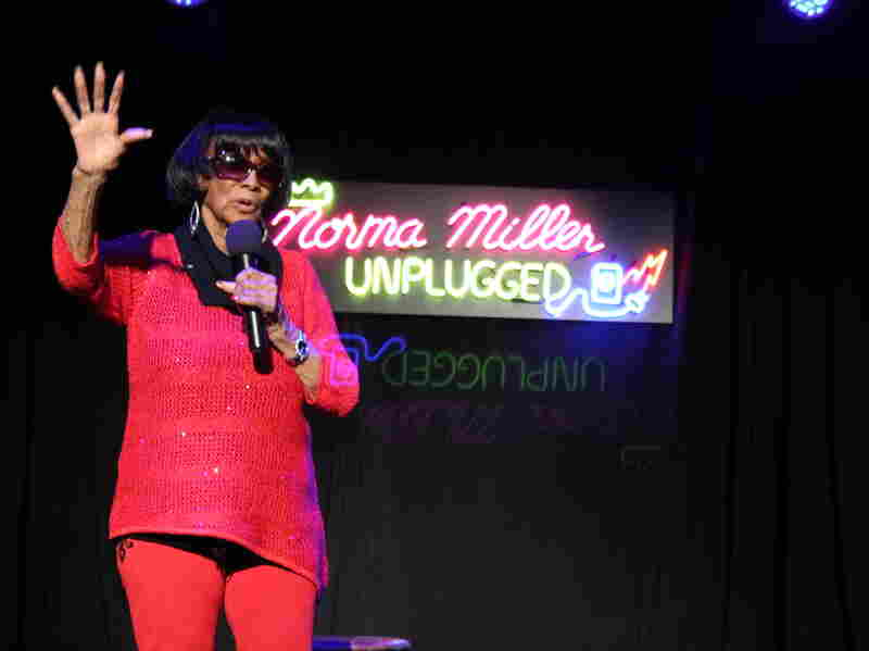 """Miller says it took her a little while to adjust to life as a stand-up comedian. """"I like illusion! I like changing costumes,"""" she says --€"""" but she relishes the role now."""