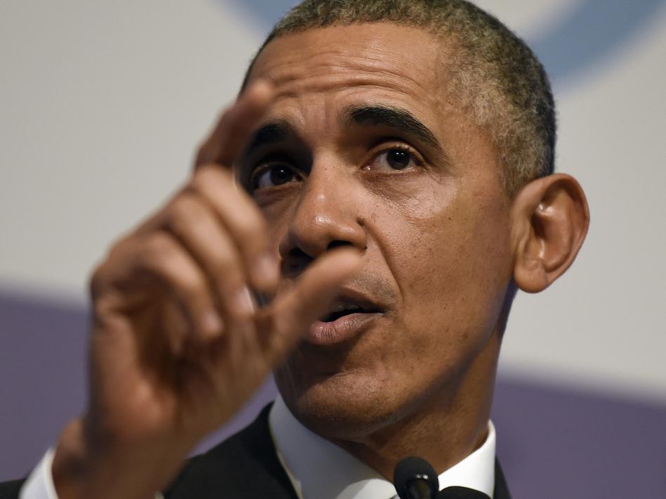 President Obama speaks to reporters in Antalya, Turkey, on Monday. (Susan Walsh/AP)