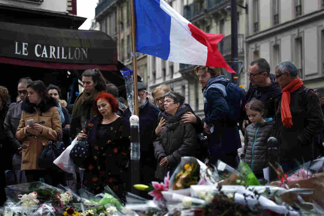 Bataclan attack - footage filmed by Le Monde journalist