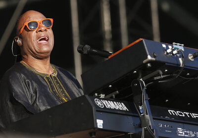 Stevie Wonder, seen here performing in 2014, was born prematurely and lost his sight due to retinopathy of prematurity.
