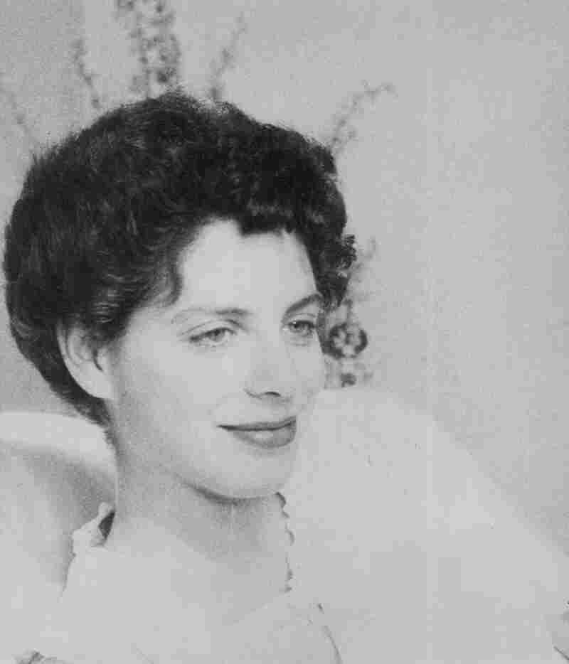 A photo of Bernays taken by her late husband, Justin Kaplan, in 1957, the day after Bernays gave birth to their first child, a daughter.